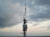 antena X-50 w nowej lokalizacji