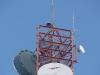 Antena X-300 na szczycie masztu